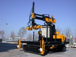 Аренда и услуги машины для забивания железных свай